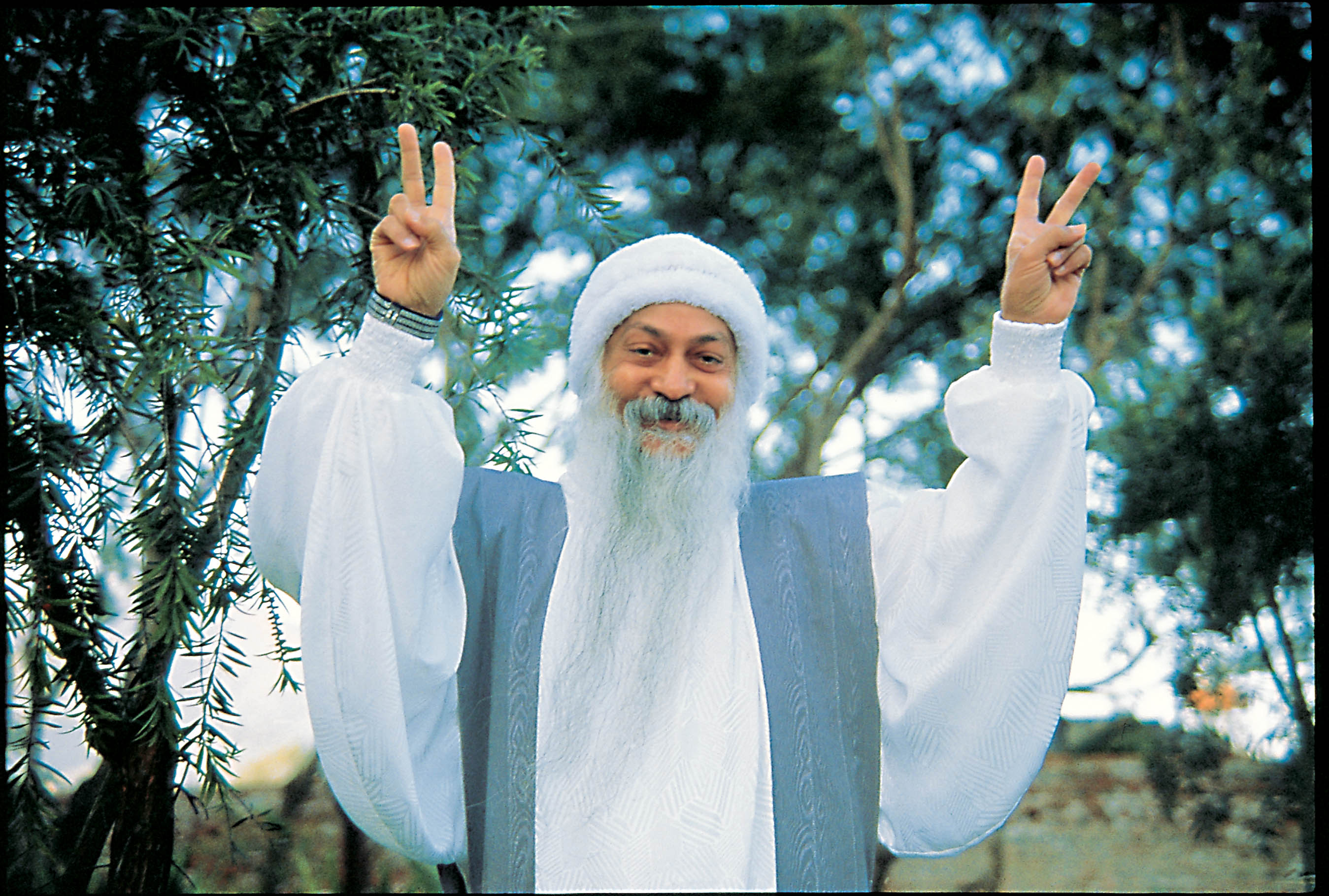 Osho White Robe