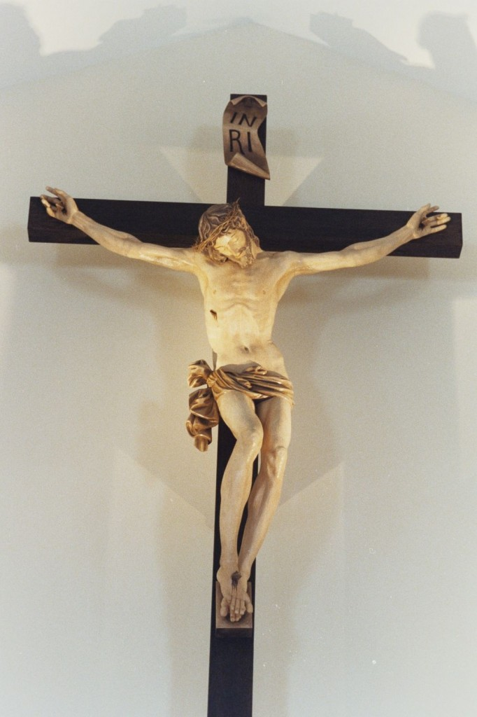 Meaning of the Christian cross: two lines, one horizontal, one vertical....
